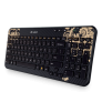 2X Logitech Wireless Keyboard K360 (Victorian Wallpaper) - Dented Box