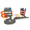Super Garage Playset Includes 4 Die Cast Vehicles