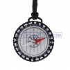 Transparent Compass with Neck Lanyard