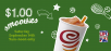 Jamba Juice 16-oz. Smoothie for $1 for CA Residents (Sep 14, from 9 am to 12 noon)