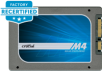 "Crucial M4 2.5"" MLC SSD (Recertified): 256GB $50, 128GB $30"