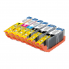 Canon 12-Pack PGI-250XL/CLI-251XL Compatible Inkjet Cartridges w/ Chip