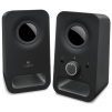 Logitech Multimedia Speakers Z150 with Stereo Sound for Multiple Devices, Black