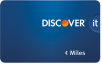 Discover it Miles Credit Card: Double Miles for the First Year
