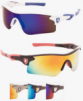 KHAN Polarized Color Mirror Sport Sunglasses for Men - Assorted Colors