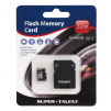 Super Talent 32GB MicroSDHC Card (Class 10) with SD Adapter, Model MSD32ST10R