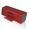Microlab MD220 Portable Stereo Speaker for Tablet, Smartphone and Notebook (RED, MD220RD) Color
