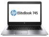 HP EliteBook 745 G2 Notebook PC (ENERGY STAR): AMD Quad-Core A10-7350B 2.1GHz, 4GB RAM, 500GB HDD, Windows 7 Pro