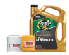 5-Qt Quaker State Full Synthetic Motor Oil $10, Quaker State Ultimate Durability Full Synthetic Motor Oil 5-Qt $12