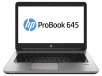 HP ProBook 645 G1 Notebook PC (ENERGY STAR): AMD Elite A6-5350M 2.9GHz, 4GB RAM, 500GB HDD, Windows 7 Pro