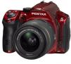 Pentax K-30 16.3MP Weatherproof D-SLR Camera with 18-55mm WR Lens (Black/Red)