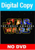 Star Wars: The Force Awakens Digital Code (NO DVD)