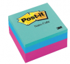 """Target 3"""" x 3"""" Post-It Notes Cube ( Green, Blue & Pink) for $0.99, 2 for $1.48"""