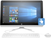 "HP All-in-One Desktop - 22-b020t: 21.5"", Celeron Quad-core Processor, 4GB RAM, 1TB HDD, Windows 10 Home"