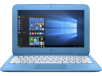 HP Stream - 11-y010nr (ENERGY STAR): Celeron N3060 1.6GHz, 4GBRAM, 32GB eMMC, Windows 10 Home