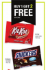 CVS: Buy 1 Get 2 Free Snickers or Reese