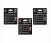 Fujitsu AA 2550mAh 500 Cycles High Capacity Ni-MH Pre-Charged Rechargeable Batteries: 12 Pack for $23.98