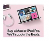Apple Education Store: Purchase Apple Mac/iPad Pro & Receive BeatsX/Solo 3  (Education Qualified Buyers)
