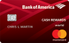 Bank of America Cash Rewards credit card: $150 Bonus after Your $500 Purchase in the first 90 days of account opening