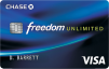 Chase Freedom Unlimited Credit Card: $150 Bonus with $500 Spent in first 3 Months + 1.5% Unlimited Cash Back