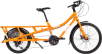 Yuba Sweet Curry Cargo Bike in Orange