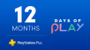 1-Year Sony PlayStation Plus Membership (Digital Delivery)
