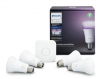 Philips Hue White and Color Ambiance A19 60-watt Equivalent Smart Bulb Starter Kit + Philips Hue LightStrip Plus