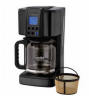 Cooks Signature Black Stainless Steel 14-Cup Coffee Maker or 2-Slice Toaster